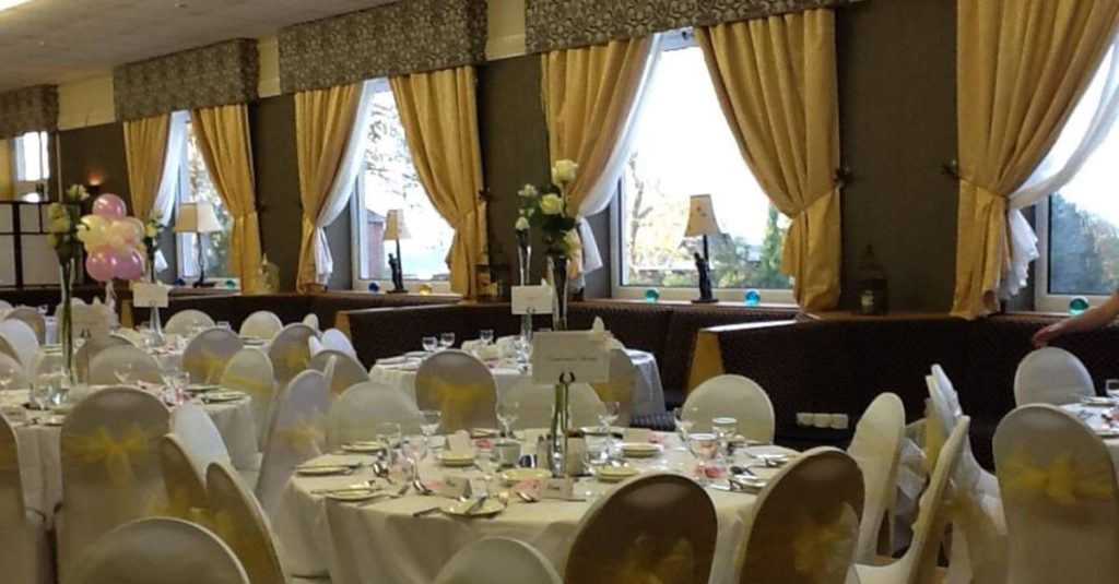 function room st patrick's golf club